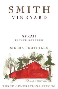 2013 Estate Syrah | Smith Vineyard | Four Generations Strong